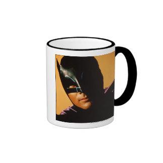 Batman Photo Ringer Coffee Mug