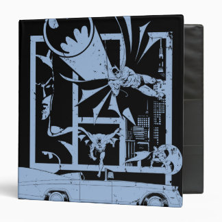 Batman - Picto Blue 3 Ring Binder
