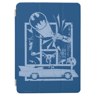 Batman - Picto Blue iPad Air Cover