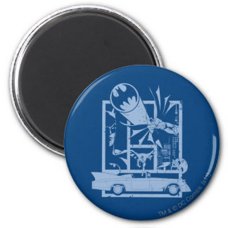 Batman - Picto Blue Magnet