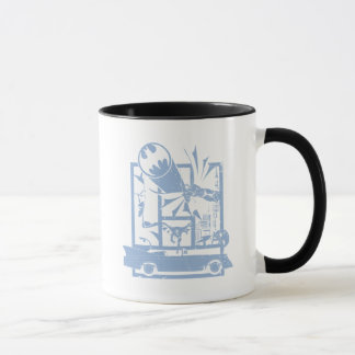 Batman - Picto Blue Mug
