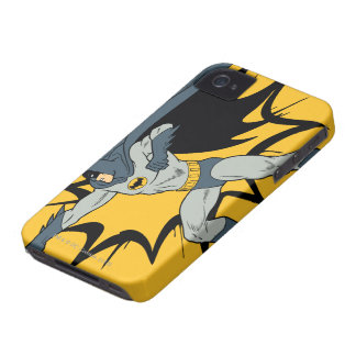 Batman Punch iPhone 4 Cover