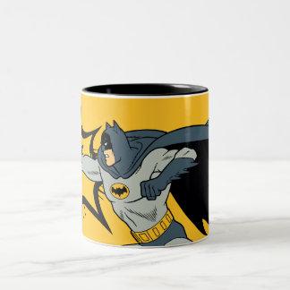 Batman Punch Two-Tone Coffee Mug