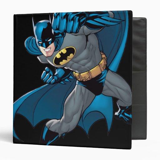 Batman Punch Vinyl Binder