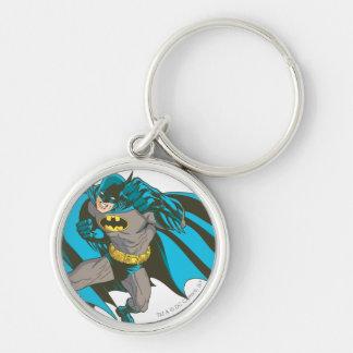 Batman Punching 1 Keychain