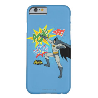 Batman Punching Graphic Barely There iPhone 6 Case