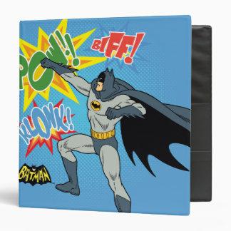 Batman Punching Graphic Vinyl Binders