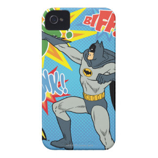 Batman Punching Graphic Case-Mate iPhone 4 Case