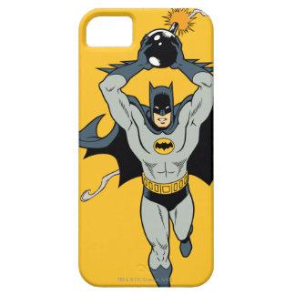 Batman que corre con la bomba iPhone 5 fundas