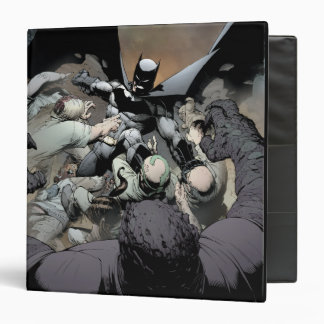 "Batman que lucha a enemigos del arco carpeta 1 1/2"""