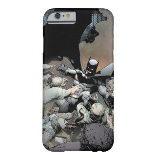 Batman que lucha a enemigos del arco funda de iPhone 6 barely there