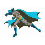Batman que perfora 2 tarjeta postal