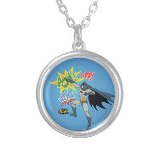 Batman que perfora el gráfico joyeria personalizada