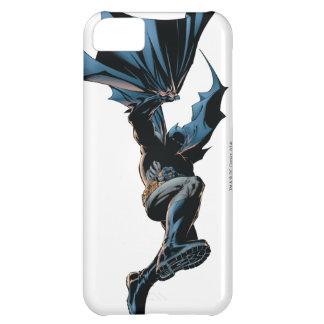 Batman que salta abajo de tiro de la acción funda para iPhone 5C