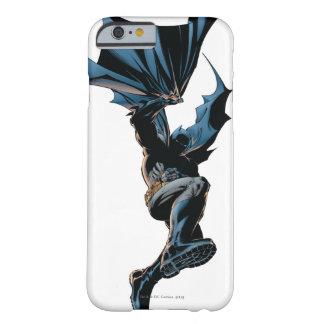 Batman que salta abajo de tiro de la acción funda para iPhone 6 barely there