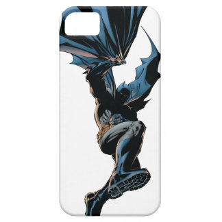 Batman que salta abajo de tiro de la acción iPhone 5 carcasas