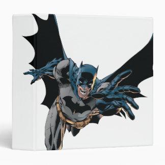 """Batman que salta adelante, grito carpeta 1 1/2"""""""