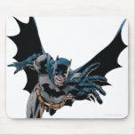 Batman que salta adelante, grito mousepad