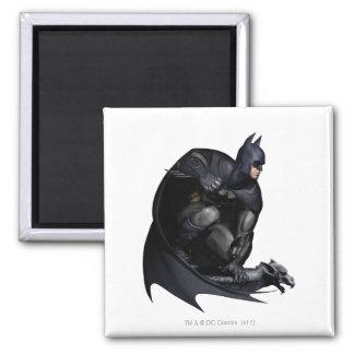 Batman que se agacha imán para frigorifico