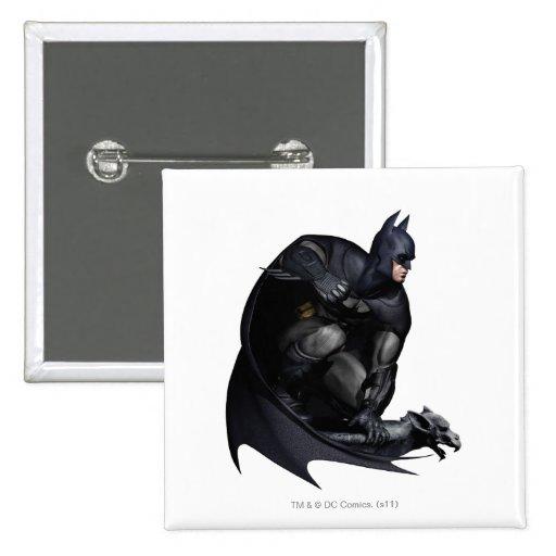 Batman que se agacha pins