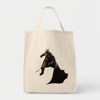 Batman que se coloca con el cabo bolsa tela para la compra