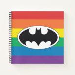 Batman Rainbow Logo Notebook