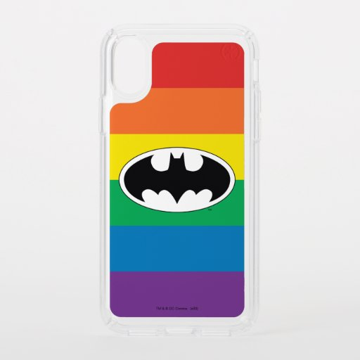 Batman Rainbow Logo Speck iPhone X Case