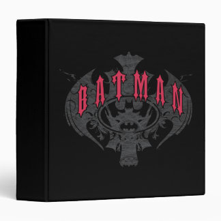 Batman | Red and Black Logo Binder