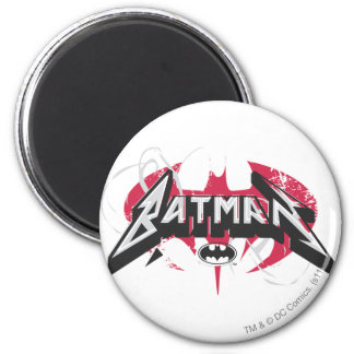 Batman | Red and Black Logo Magnet