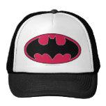 Batman Red Black Logo Trucker Hats