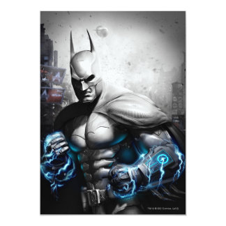 """Batman - relámpago invitación 5"""" x 7"""""""