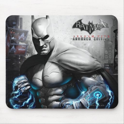 Batman - relámpago mousepads