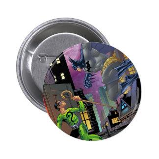 Batman - Riddler Pin Redondo De 2 Pulgadas