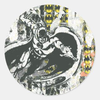 Batman - Rise Up Collage 1 Round Stickers