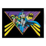 Batman & Robin 2 Greeting Cards