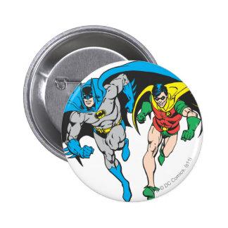 Batman & Robin 2 Inch Round Button