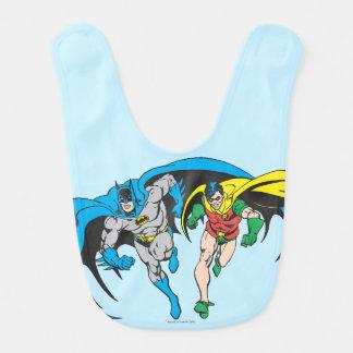 Batman & Robin Baby Bib
