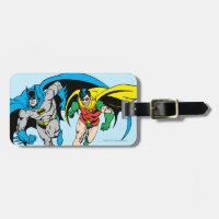 Batman & Robin Bag Tag