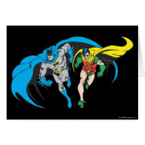 Batman & Robin Card