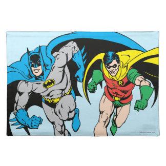 Batman & Robin Cloth Placemat