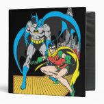 Batman & Robin Escape Binder