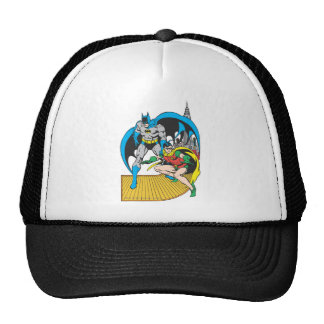 Batman & Robin Escape Trucker Hat