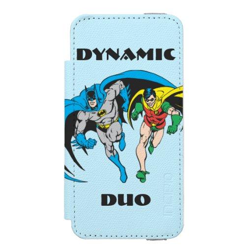 Batman & Robin Wallet Case For iPhone SE/5/5s
