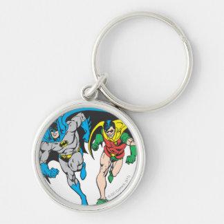 Batman & Robin Keychain