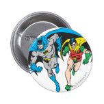 Batman & Robin Pinback Button