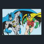 """Batman &amp; Robin Placemat<br><div class=""""desc"""">DC Originals - DC Comics</div>"""