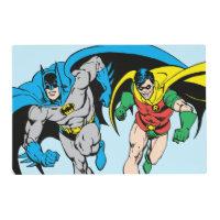 Batman & Robin Placemat