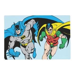 Batman & Robin Placemat at Zazzle