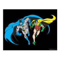 Batman & Robin Postcard