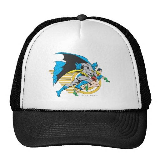 Batman & Robin Profile Hats